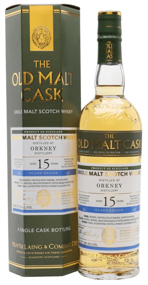 OLD MALT CASK ORKNEY 15 YR