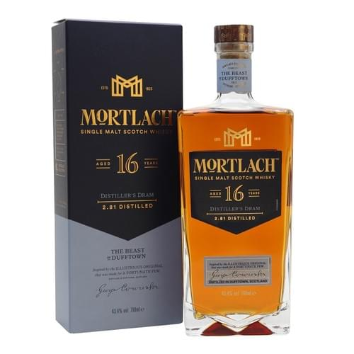 """Mortlach 16 Year Old """"The Beast of Dufftown""""(43.4% abv)"""