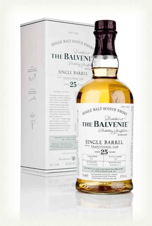 The Balvenie 25 Year Old Single Barrel
