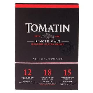 TOMATIN SINGLE MALT 50ML GIFT PACK