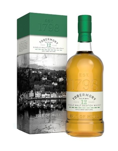 Tobermory 12 Year Old Whisky (46.3% abv)