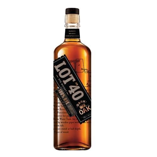 Lot No. 40 Dark Oak Canadian Whisky 48% abv