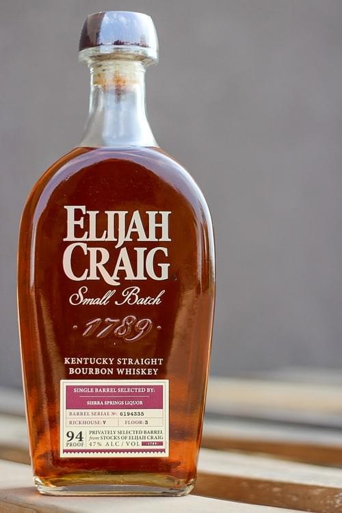 Elijah Craig Small Batch- Sierra Springs Liquor