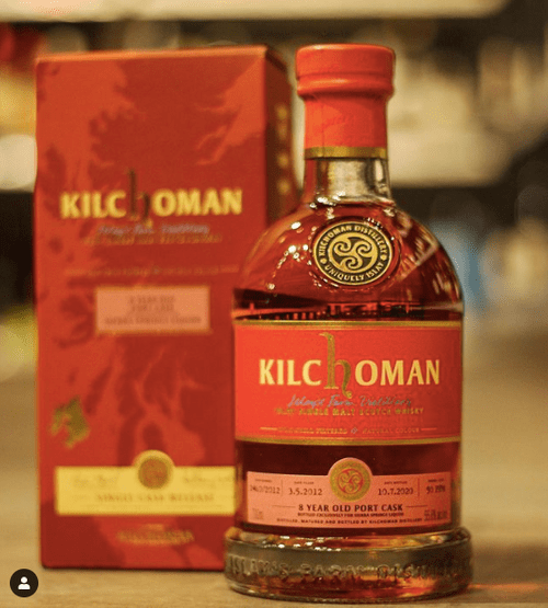 Kilchoman 8 Year Old Port Cask- Sierra Springs Liquor Exclusive (55.6% ABV)