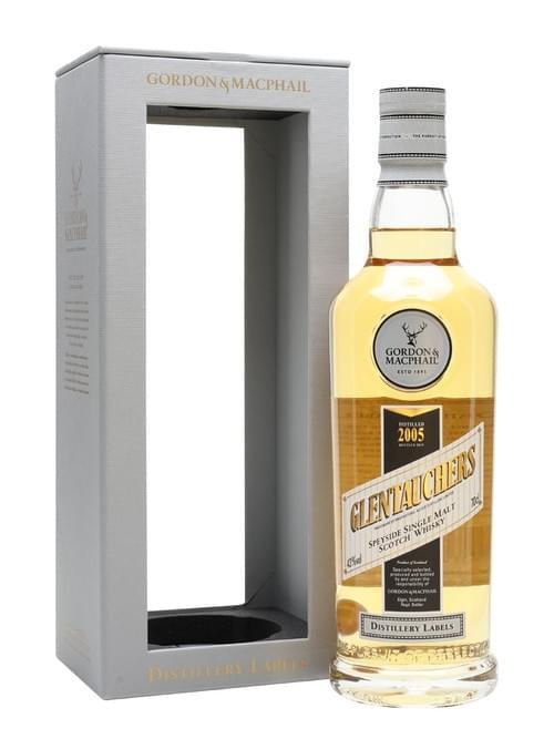 G&M Distillery Label Glentauchers 2006