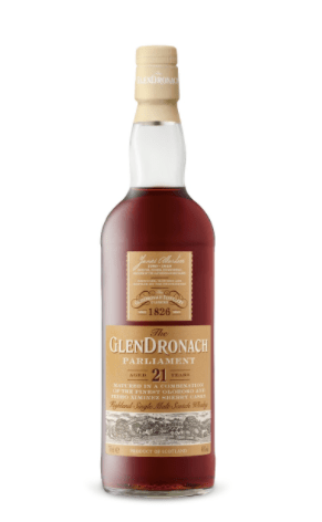 GlenDronach 21YO Parliament Single Malt Scotch