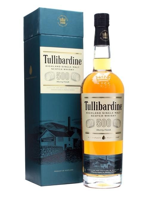TULLIBARDINE 500 SHERRY43%