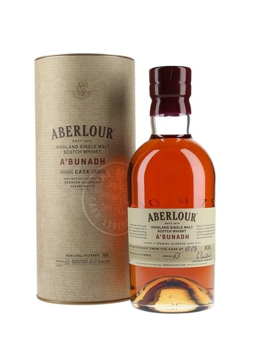 Aberlour A'bunadh Single Malt Cask Strength