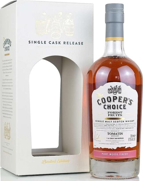 Cooper's Choice Tomatin Forest Fruits Port Wood Finish