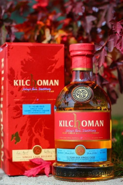 Kilchoman 11 Year Old Bourbon Cask 59.3% ABV