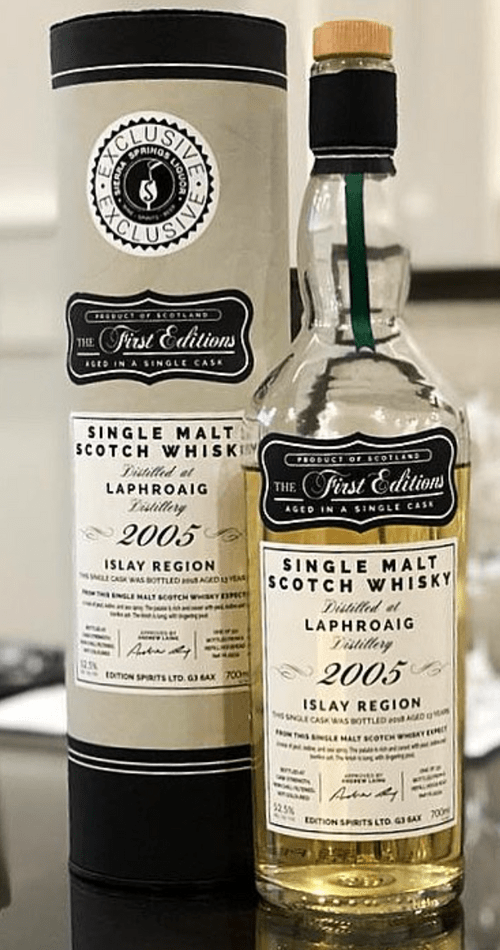 The First Edition Laphroaig 2005 Exclusive