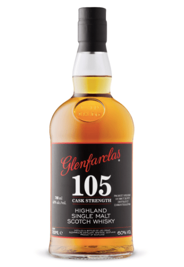 Glenfarclas 105 Cask Strength Highland Single Malt Scotch Whisky