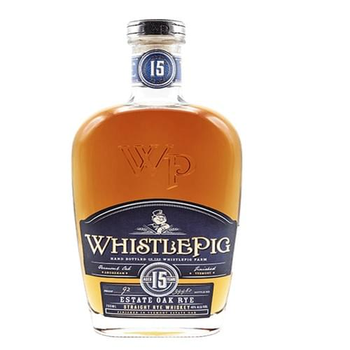 WhistlePig 15 Year Old Straight Rye (46% abv)