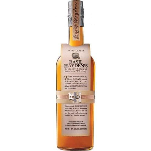 Basil Hayden's Kentucky Bourbon (40% abv)