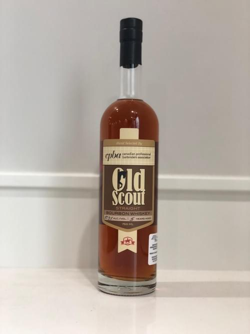 SMOOTH AMBLER OLD SCOUT 5 YO CPBA CASK 2 57.3%
