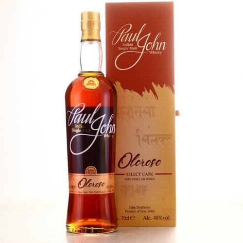 Paul John Oloroso Indian Single Malt