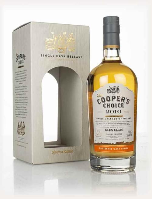 Coopers Choice Glen Elgin 11Yo Sauternes (Limit 1 Per Person/ Household)
