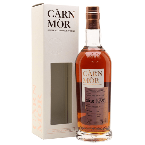 Càrn Mòr Glenrothes 10 Year Old 2010- Strictly Limited 64.4% abv