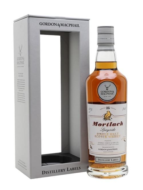G&M Distillery Label Mortlach 25 Yo