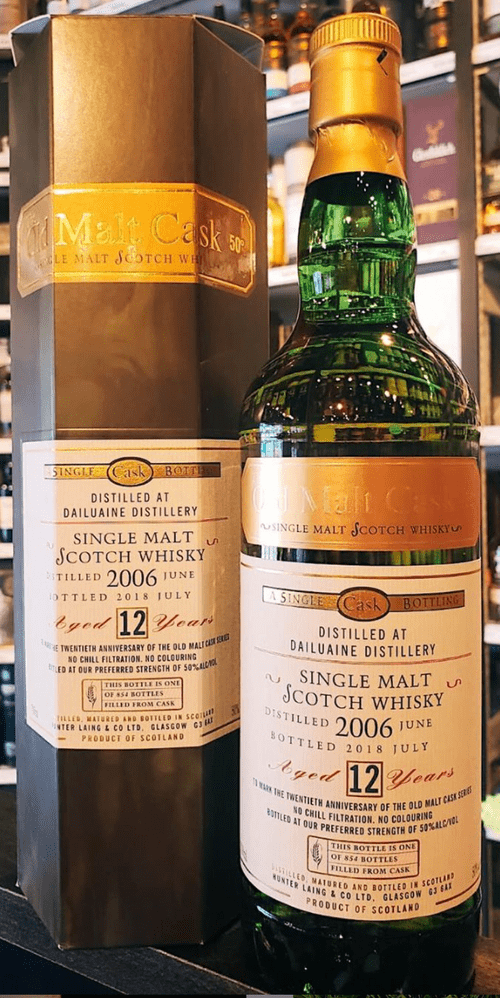 Dailuaine 12 Year Old 2006 - Old Malt Cask Exclusive