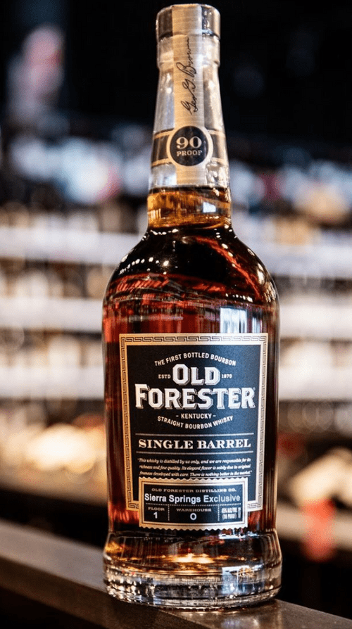 Old Forester Single Barrel Exclusive