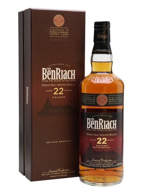 BenRiach 22 YO Peated Albariza PX Cask