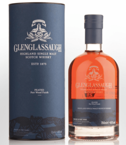 Glenglassaugh Peated Port Woof Finish Single Malt Scotch Whisky