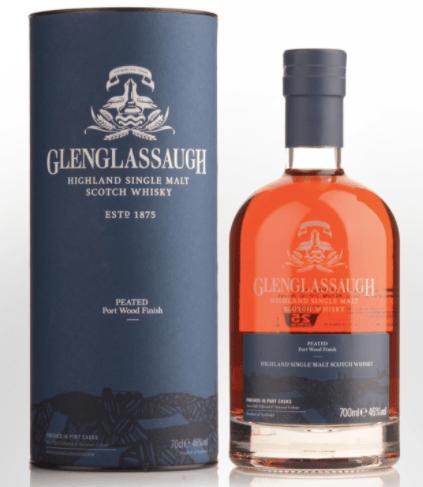 Glenglassaugh Peated Port Woof Finish Single Malt Scotch Whisky
