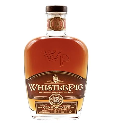 WhistlePig Old World Straight Rye 12 Year Old