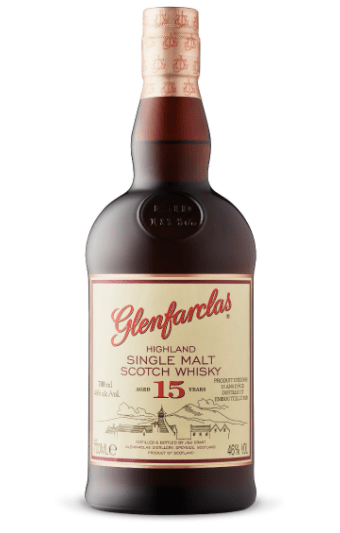 Glenfarclas 15-Year-Old Highland Single Malt Scotch Whisky