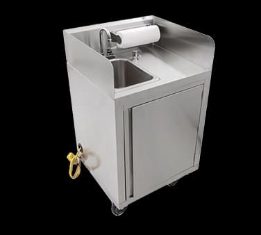 John Boos Mobile Hand Wash Sink- MHS-2624-XX