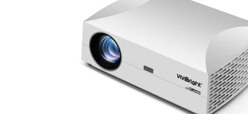 VIVIBRIGHT 1080P PROJECTOR F30UP (Screen Mirroring) with FREE Carry bag for Home THEATER