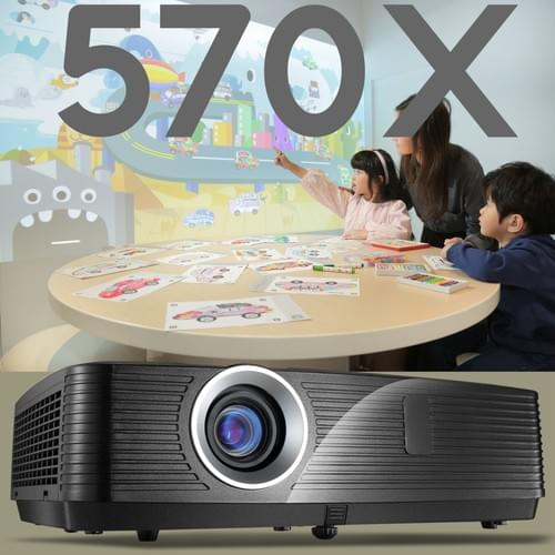 VIVIBRIGHT 570X business LCD Projector, 4500-lumens, XGA/1024x768P ideal for Daytime environment
