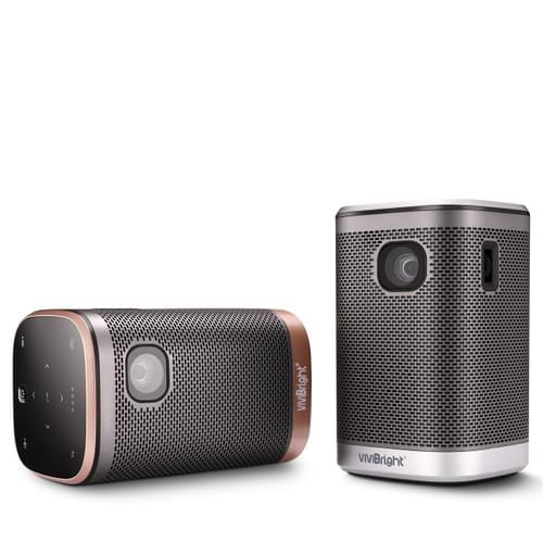 "VIVIBRIGHT L2 mobile smart pocket 4K cinema projector DLP+LED for 120"" video entertainment"