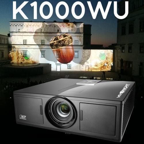 VIVIBRIGHT K1000WU LARGE Venue Installed DLP Projector, 1920x1200P/WUXGA for Large Public Venues