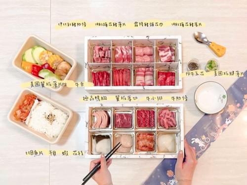 四時雙人豐盛套餐 四時輕燒肉最強CP值套餐(16格)