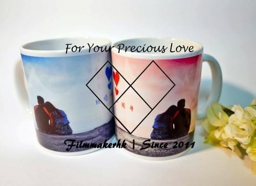 DIY 相片 杯子 變色杯 咖啡杯 水杯
