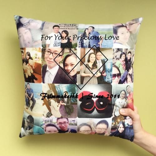 相片 LOVE Cushion 咕臣 DIY