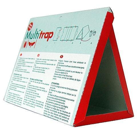 Piège multitrap pour mites à activer avec la pastille phéromone adéquate (TRA016)