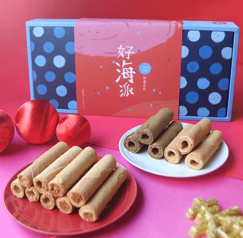 【海邊走走】好海派新年蛋卷禮盒 (預購)