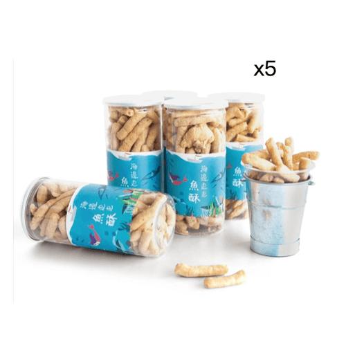 新鮮魚骨頭酥 x5罐