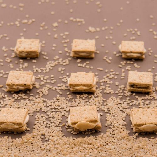 【吉室】牛軋米餅 原味/三星蔥/鹹蛋黃 ( 5入/袋)