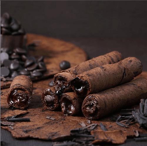 【海邊走走】黑巧克力愛餡蛋捲【官網同步搶先新品】