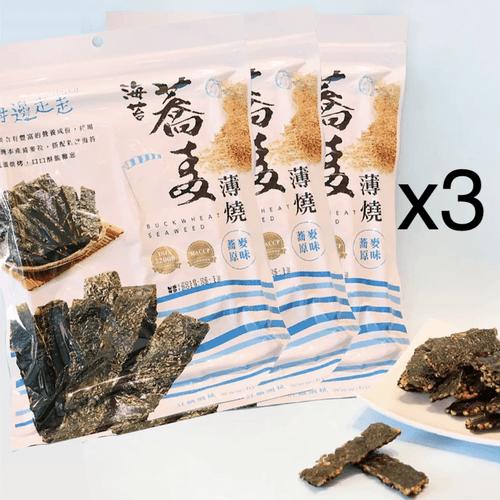 海苔黃金蕎麥薄燒 x3包
