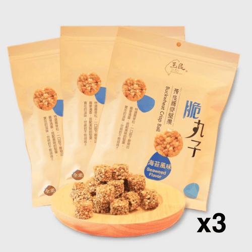海苔堅果脆丸子(海苔風味)x3包