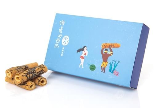 【海邊走走】激厚海苔蛋卷 (5倍的厚實口感) (預購)