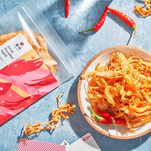 【團時】海味魷魚絲 辣味 (新品上市)