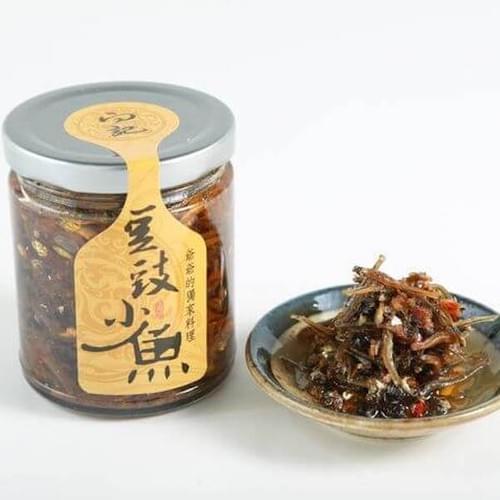 【向記爺爺】豆豉小魚