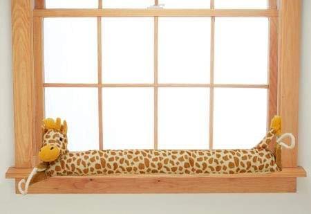 """36"""" Giraffe Door and Window Draft Stopper- Save Energy & Money, Keep Heat in"""