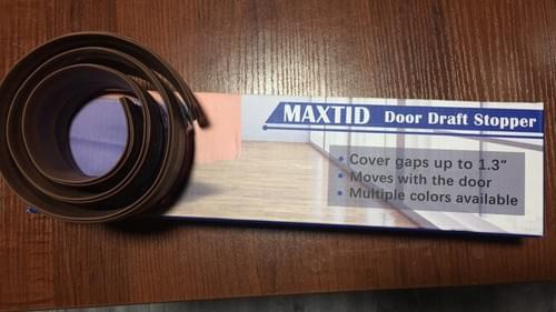 "MAXTID Door Stops of Rubber Under Door Draft Stopper Seal 39"" High Performance Door Seal Gap Blocker"